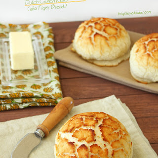 Dutch Crunch Rolls Recipe