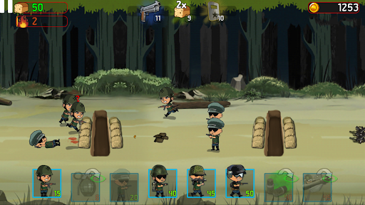 War Troops: Military Strategy Game for Free  screenshots 17