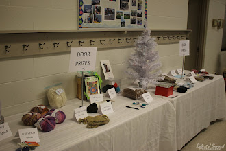 Photo: Door Prizes at Delmarva Wool & Fiber Expo 2015 (Fall) | Photograph Copyright Robert J Banach #oceancitycool