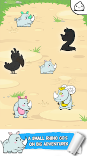 Rhino Evolution - Clicker Game - náhled