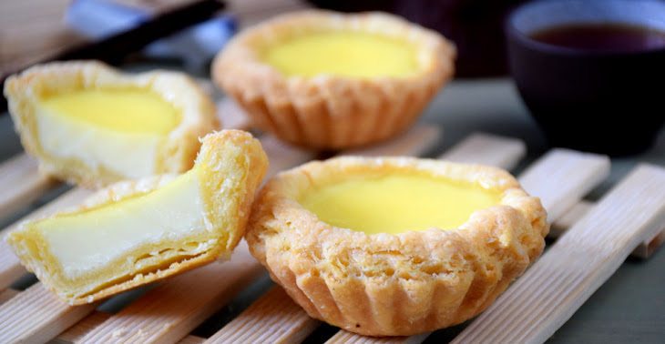 Egg Tart Recipe with Chinese Puff Pastry Recipe