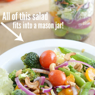Asian Sesame Mason Jar Salad