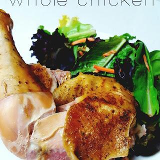 Crockpot Ranch Whole Chicken.