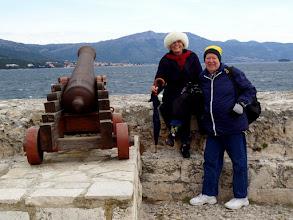 Photo: We had a lot of fun walking around Korčula.  Nice shoes!