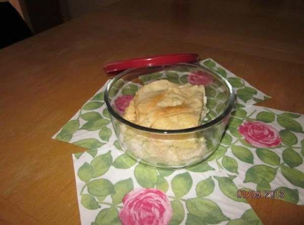 Leftovers can be saved (in freezer) as individual slices and reheated later.