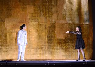 Photo: Wiener Kammeroper: SEMIRAMIDE von Leonardo Vinci/ G.F. Händel. Inszenierung: Francesco Micheli. Premiere: 23.9.2013. Cigdem Soyarslan, Ganya Bengur Akselrod. Foto: Barbara Zeininger