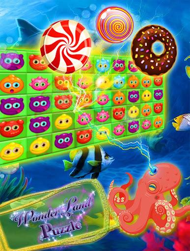 Wonderland Puzzle - Swipe Game