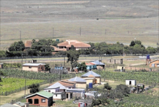 RENTAL ROOMS: Qunu villagers say they are  sad that Mandela is in hospital again Photo: LULAMILE FENI