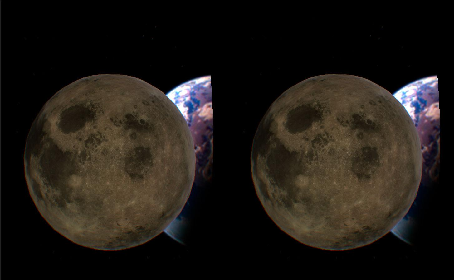 Moon Surface VR- screenshot