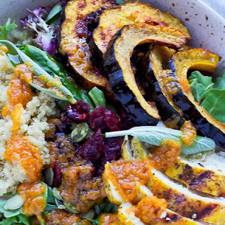 Grilled Turmeric Chicken Salad.