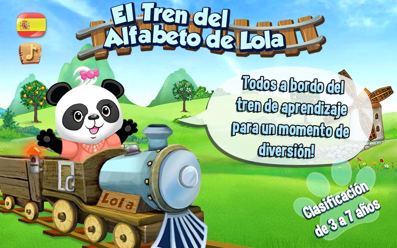 El tren del alfabeto de lola aplicaciones android en for Andy panda jardin de infantes