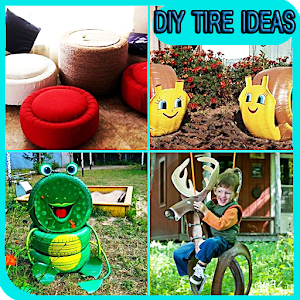 New diy tire ideas android apps on google play - What to do with used tires ...