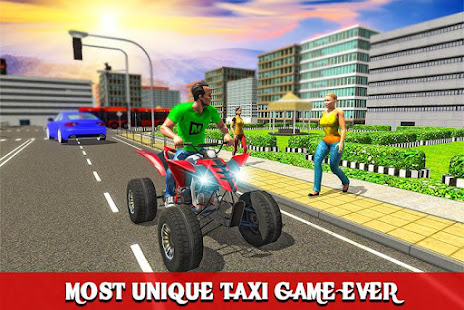 ATV Taxi Sim 2018 screenshot