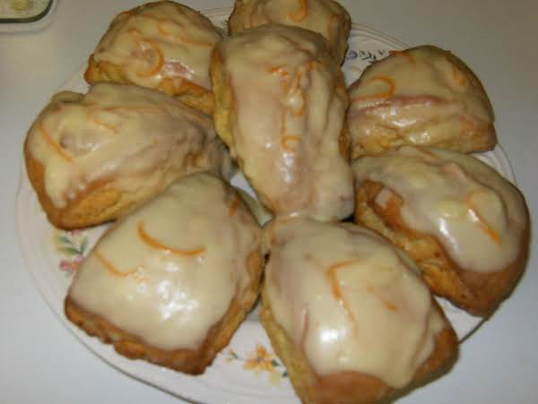 Orange Scones Recipe