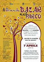 Foto: Il Grande Bazar nel Parco. Mercatino totalmente basato sul baratto e sullo scambio. 1 volta al mese, a Gorizia in Parco Basaglia.