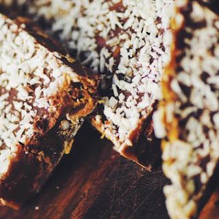 Chocolate-Coconut Sugar Caramel Toffee (Gluten Free)