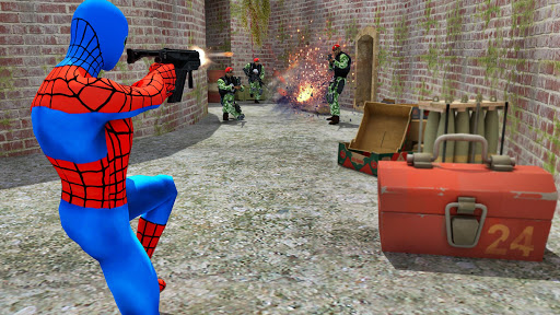 Spider Hero Counter Strike Attack 2017 Games (apk) free download for Android/PC/Windows screenshot