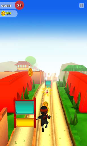 Ninja Runner 3D screenshot 2