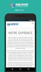 Sapience InterGlobe- screenshot thumbnail