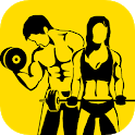 Fitness - Gym and Home Workout,my Exercise Journal icon