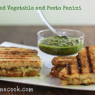 Grilled Vegetable and Pesto Panini.