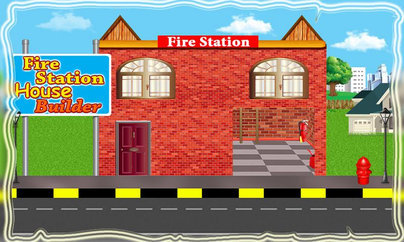 Fire station house builder construction simulator for House building simulator online