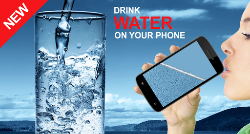 Drink Water on your phone
