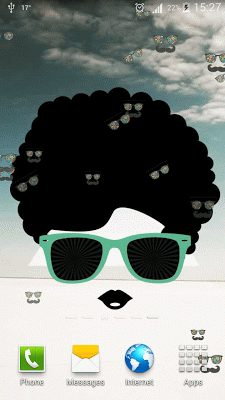 Hipster Live Wallpaper HD - screenshot