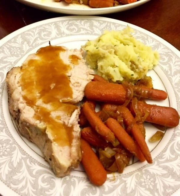 Pork Roast Or Chops With Apricot Pineapple Glaze Recipe