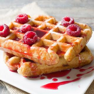 Sour Cream Buttermilk Waffles