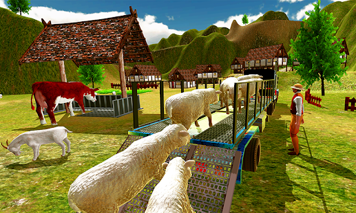 Farm Animal Transport Simulator - náhled