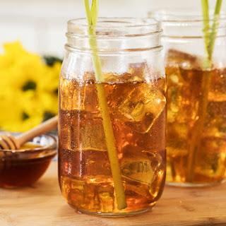 Honey-Ginger Iced Green Tea with Lemongrass Recipe