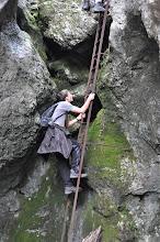 Photo: Údolím Weichtal na horskou chatu Kienthalerhütte (1380 m n. m., neděle 30. 9. 2012).