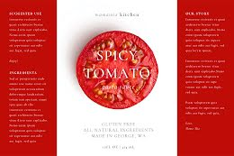 Spicy Tomato - Label item