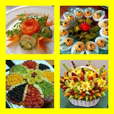 クリエイティブ食品の装飾