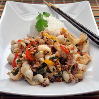 Thai-style Squid Stir Fry