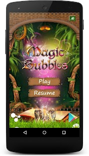 Magic Bubbles - 3 in a row - screenshot thumbnail
