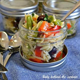 Italian Orzo Salad.