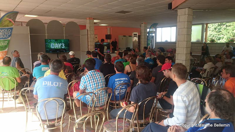 Championnat d'Italie 2017 samedi 22/07 course au but de 59 km briefing