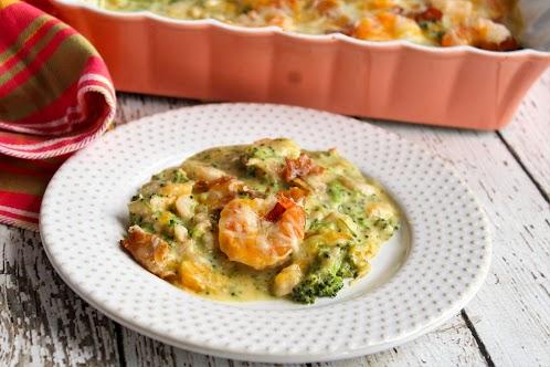 Broccoli Shrimp Casserole
