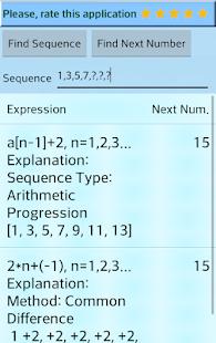 Number Series Calculator - náhled