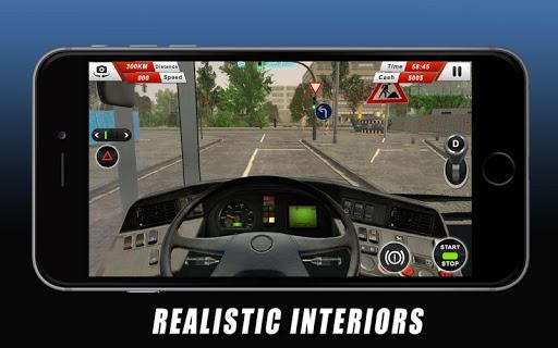 Autobu00fas Euro Coach conduciendo simulador Off Road  trampa 7