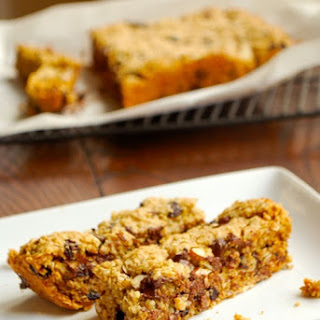 Chocolate, Cherry and Oatmeal Bars