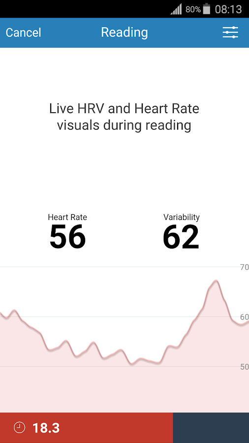 Elite HRV- screenshot