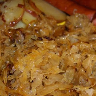 German Sauerkraut & Bratwurst & Bacon Onion Potatoes