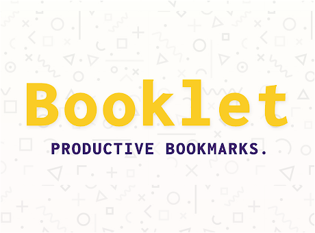 Booklet Bookmark Manager