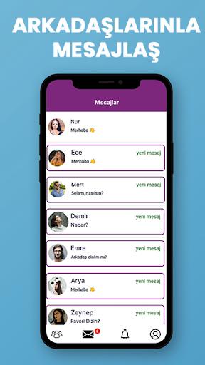 10E-Ücretsiz Arkadaşlık sitesi-sohbet uygulaması screenshot 3