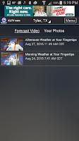 Screenshot of KLTV StormTracker 7 Weather