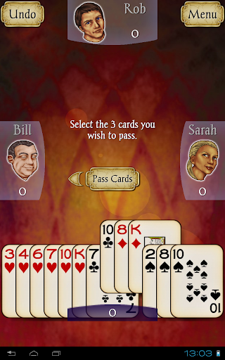 Hearts Free screenshot 7