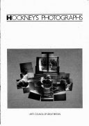 Photo: Catalogue from David Hockney's original show @ The Hayward Gallery in London, 1985